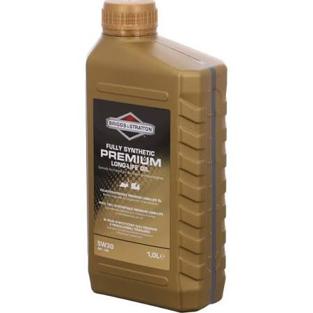 Briggs and Stratton Premium Long Life Engine Oil 1.0 Litre Product Code 100007s