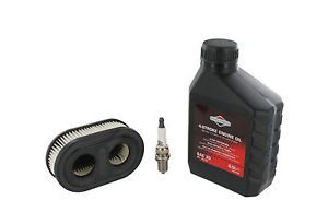 Briggs and Stratton Sprint 450e, 500e, 550e Engine Full Service Kit (Air Filter, Oil and Spark Plug)