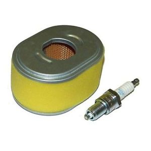 Honda GX110 and GX120 Part Service Kit (Air Filter and Spark Plug)