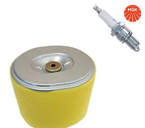 Honda GX340 and GX390 Part Service Kit (Air Filter and Spark Plug)