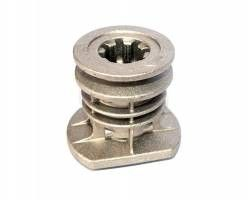 Mountfield SP530 22.2mm Self Propelled Blade Hub with Pulley Replaces Part Number 122465607/3