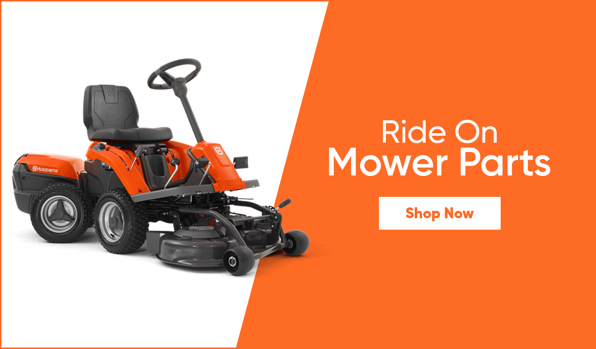 Ride on mower parts promo